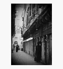 streets of Venice Photographic Print