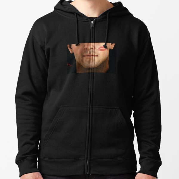 Commander Cullen Rutherford Kissed Zipped Hoodie