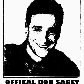 Official Bob Saget Fan Club Shirt by JoeStraz