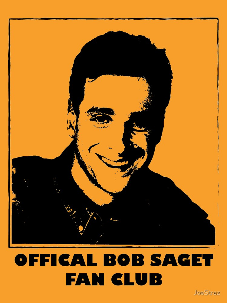 Official Bob Saget Fan Club Shirt | Unisex T-Shirt