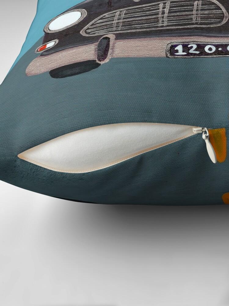Alternate view of Black Volvo Amazon Throw Pillow