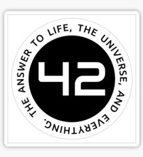 42 - The Ultimate Answer Sticker