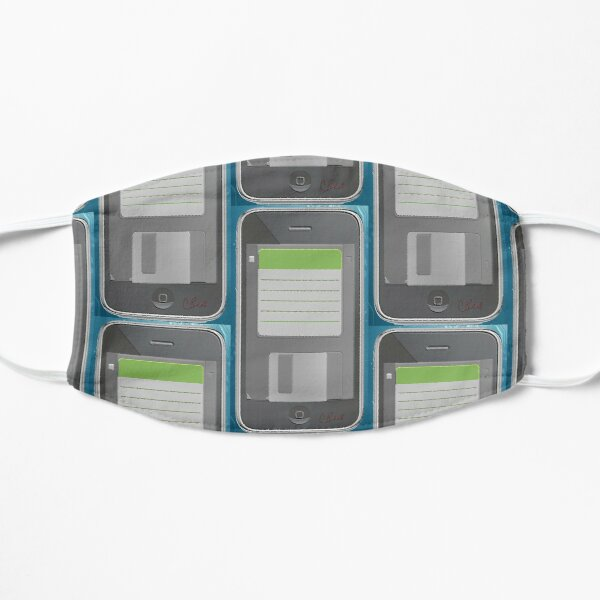 Floppy Disk Smart Phone Mask