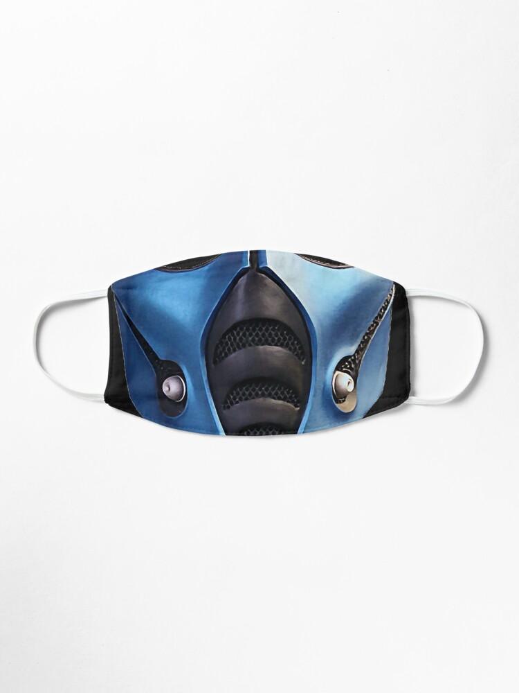 Subzero Mortal Kombat Mask Mask By Prowaydesi Redbubble