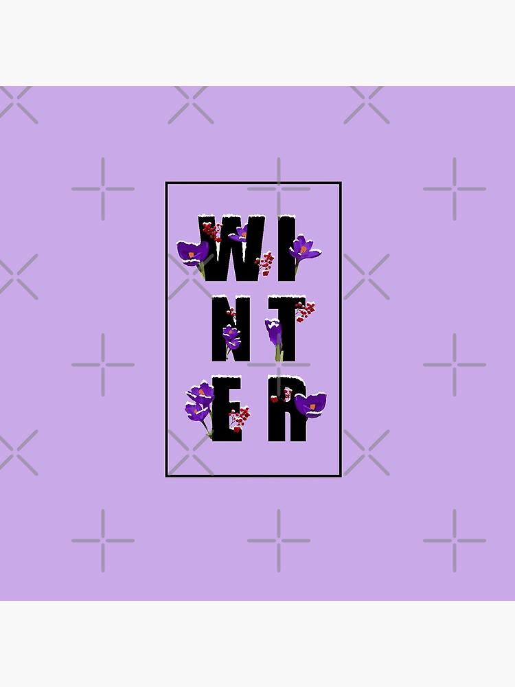 Winter word by PrintablesP