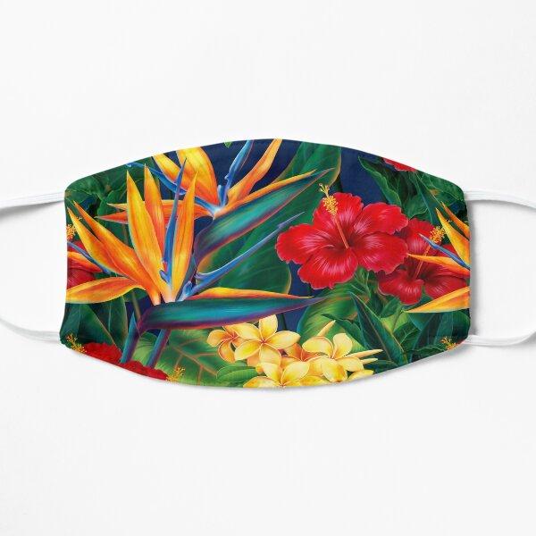 Tropical Paradise Hawaiian Birds of Paradise Illustration Mask