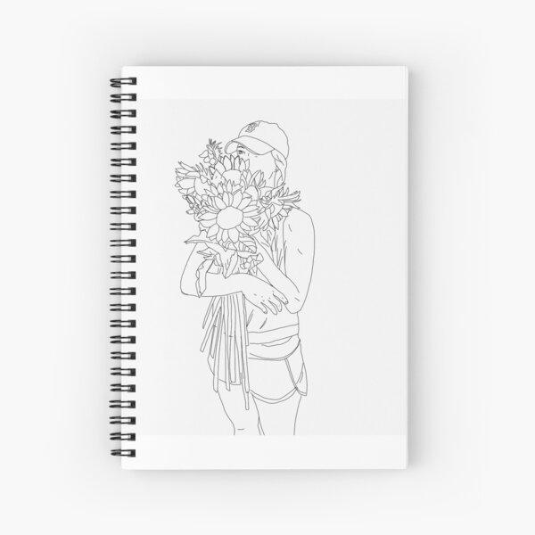 Bushel of sunflowers Spiral Notebook