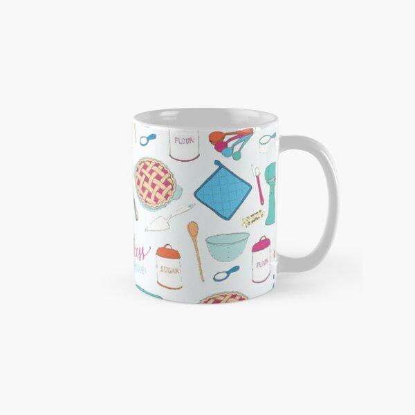 Waitress the Musical Pattern Classic Mug