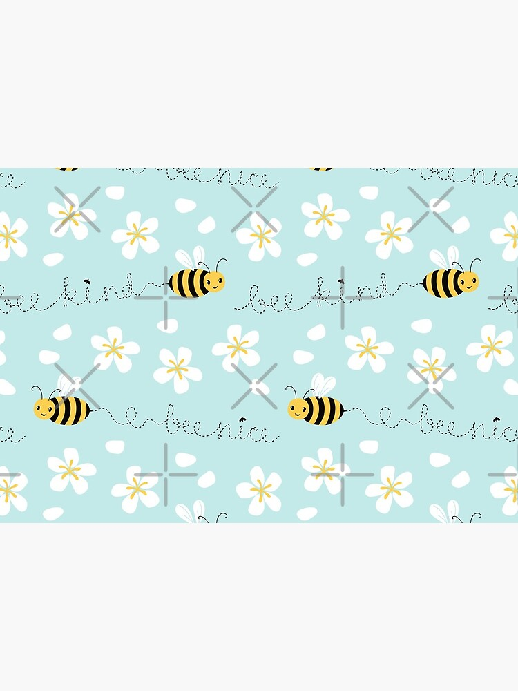 Bee nice, Bee kind (with sticker) by nadyanadya