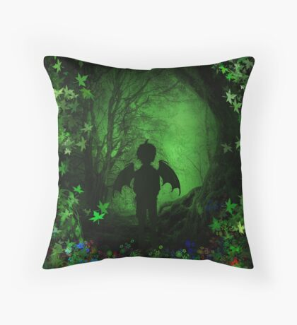 Jeremy The Wicca'd Throw Pillow
