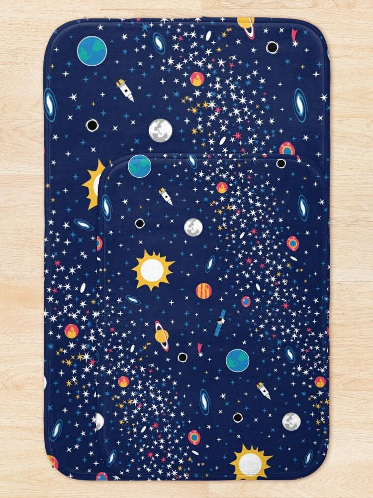 Alternate view of Milky Way Bath Mat