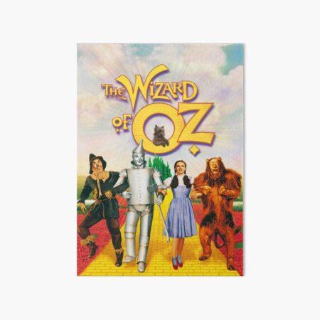 The Wizard Of Oz Art Board Print