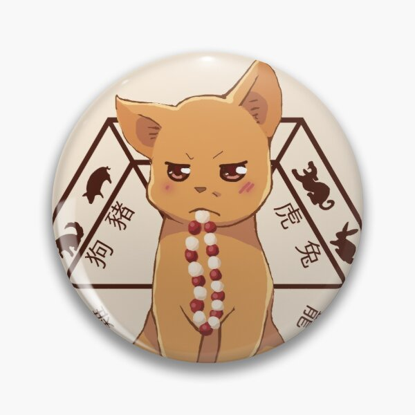 Kyo the cat Pin