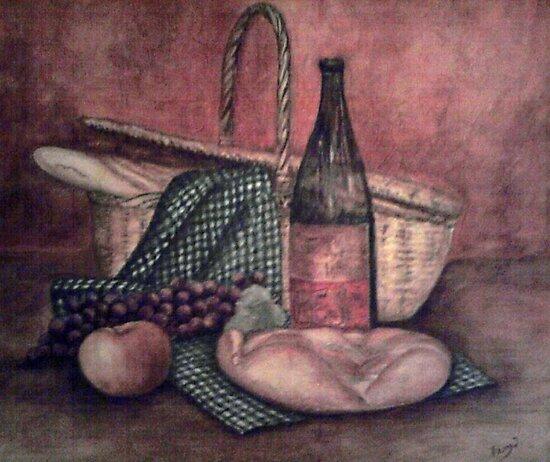 Picnic basket by Fannyja
