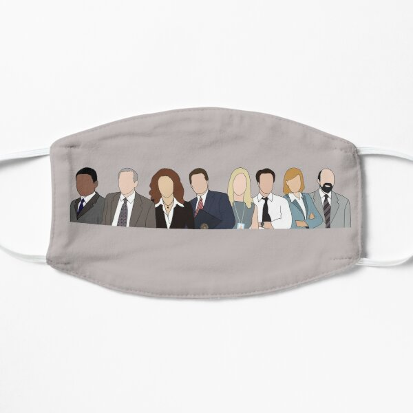 the west wing cast Mask