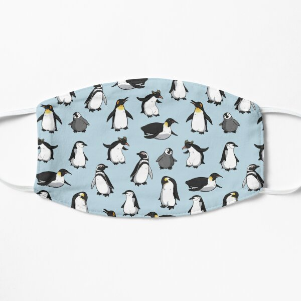 Cute Penguin Pattern Mask