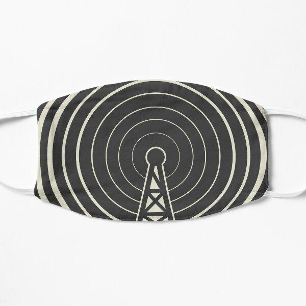 Radio tower broadcast Flat Mask