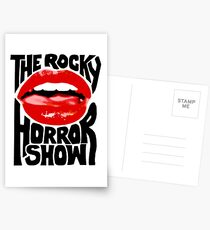The rocky horror show Postcards