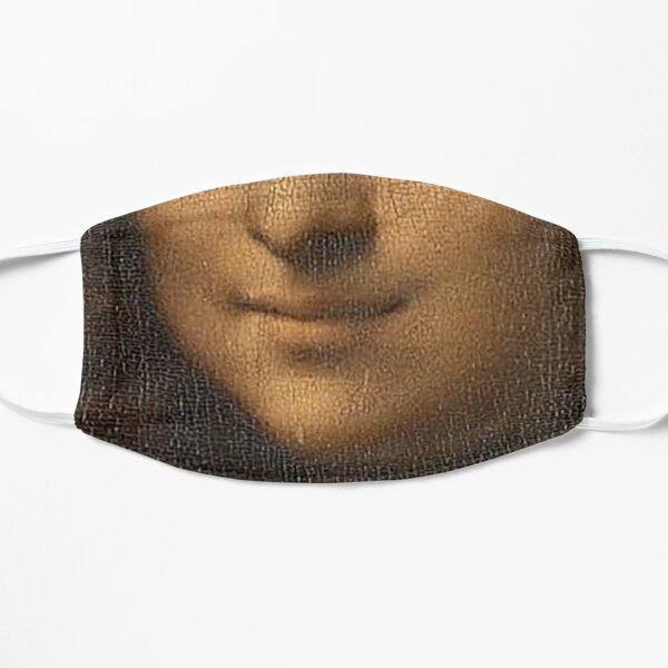 Sonrisa de Monalisa Mascarilla plana