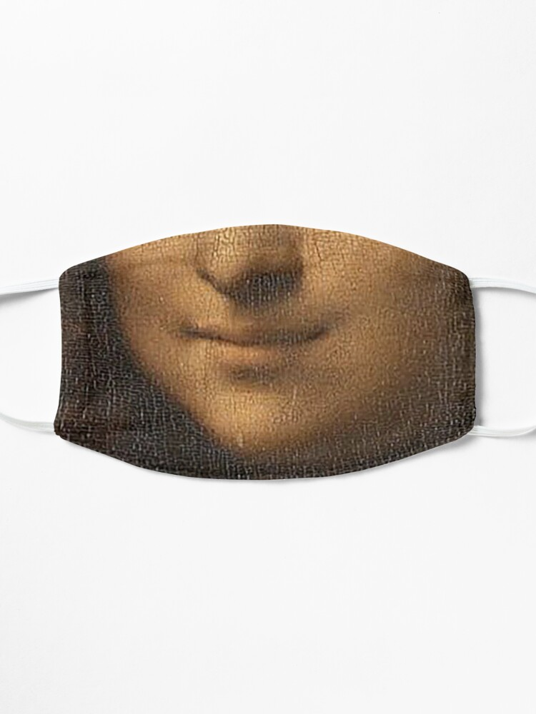Alternate view of Monalisa Smile Mask