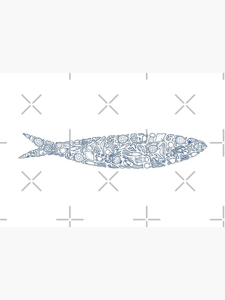 Sardine of Sea Animals by nadyanadya