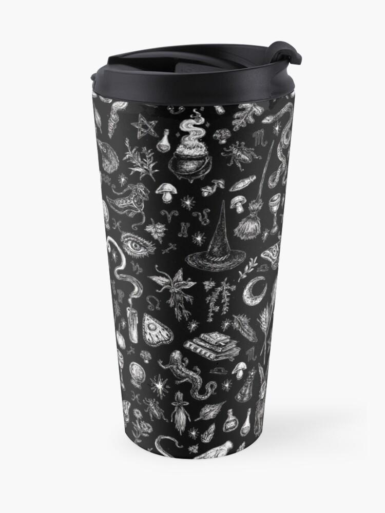 Alternate view of Salem Witch in Black Travel Mug