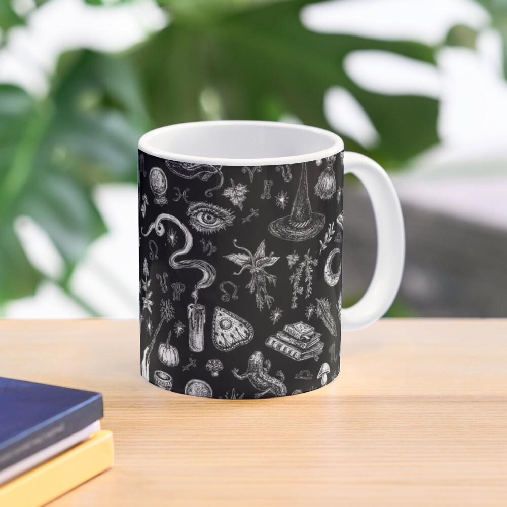 Salem Witch in Black Mug