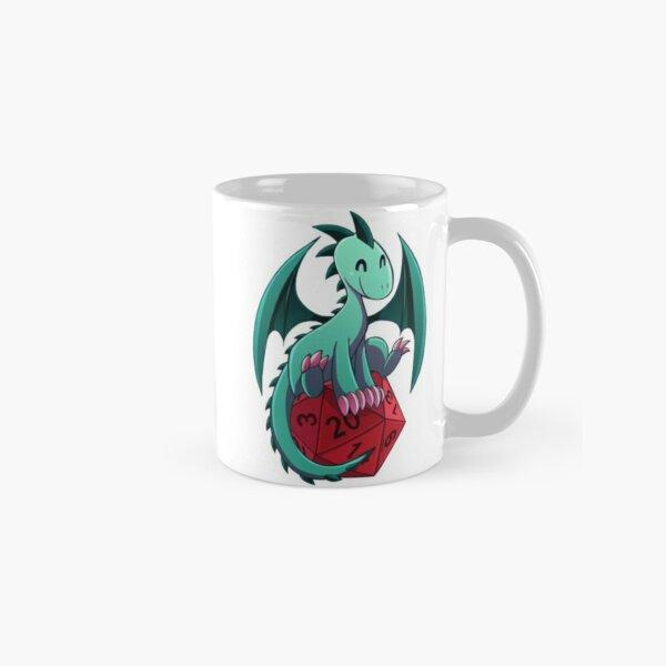 D&D - Dragons and Dice! (Green Dragon) Classic Mug