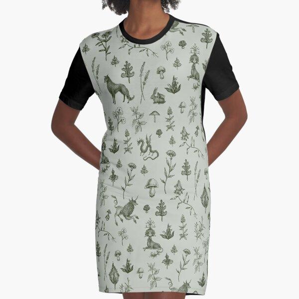 Medieval Dingus Party! Graphic T-Shirt Dress