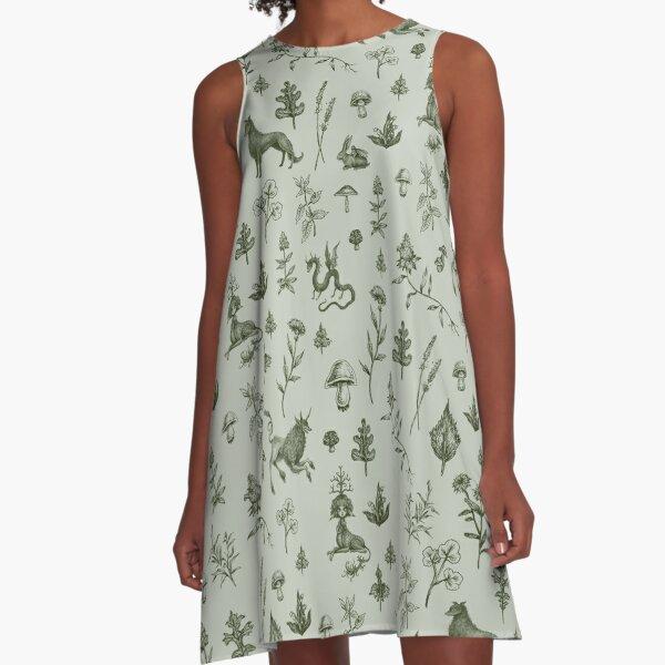 Medieval Dingus Party! A-Line Dress