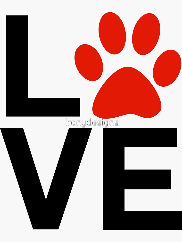 Love Dogs and/or Cats by ironydesigns