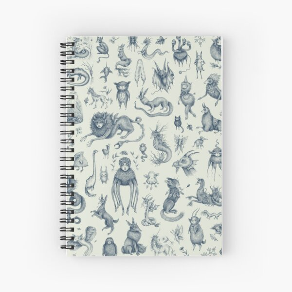 Beings and Creatures  Spiral Notebook