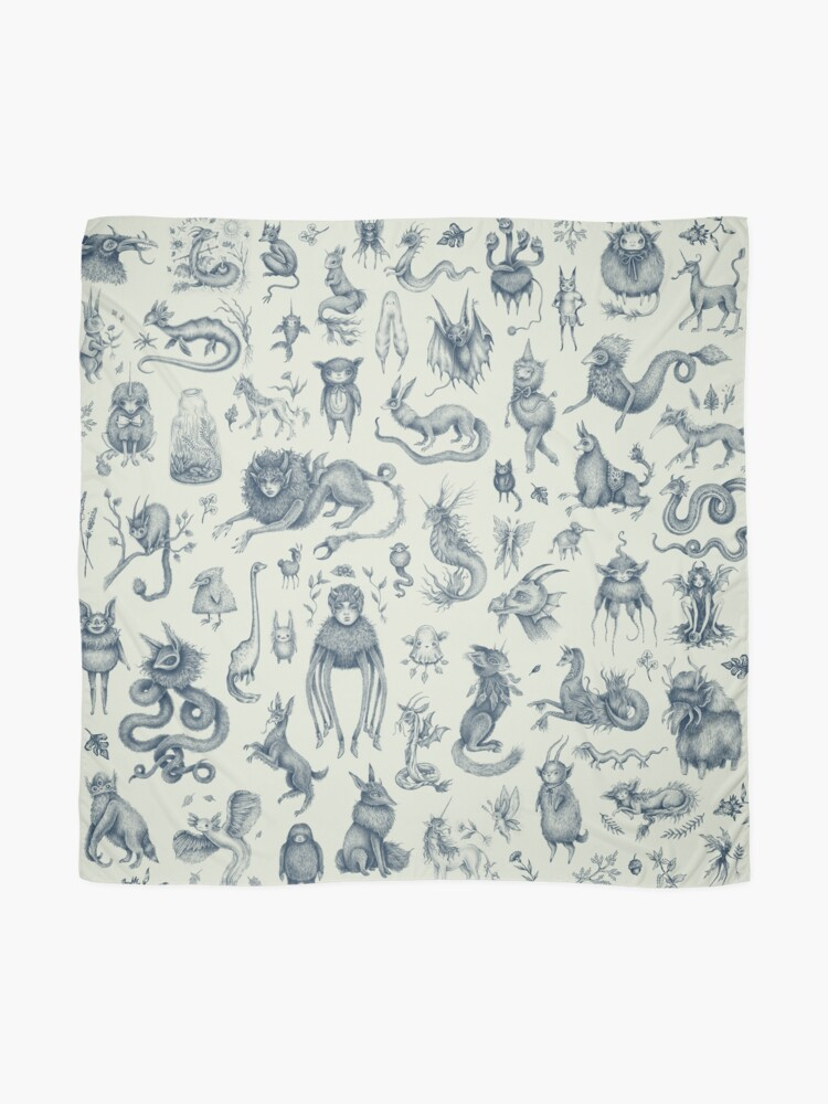 Alternate view of Beings and Creatures  Scarf