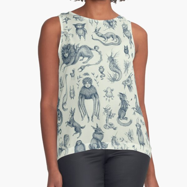 Beings and Creatures  Sleeveless Top
