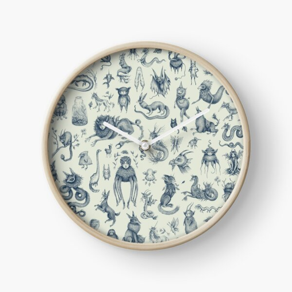 Beings and Creatures  Clock