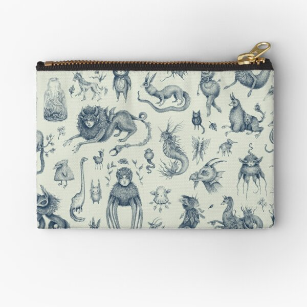 Beings and Creatures  Zipper Pouch
