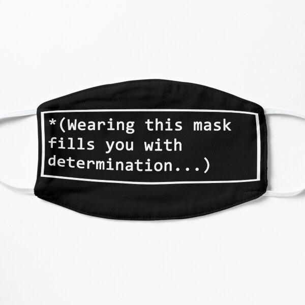 undertale FACE MASK Flat Mask