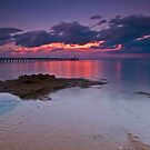 Point Lonsdale Sunset 2 by Danielle  Miner