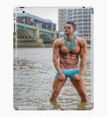 Hot Model on the Thames in London with Kenolivier iPad Case/Skin