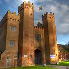 Lullingstone Gatehouse - 16th Century by Kim Slater