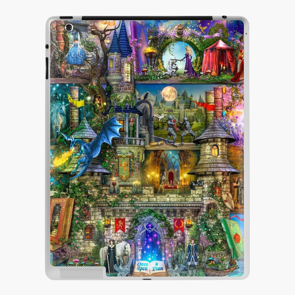 Once Upon a Fairytale iPad Case & Skin