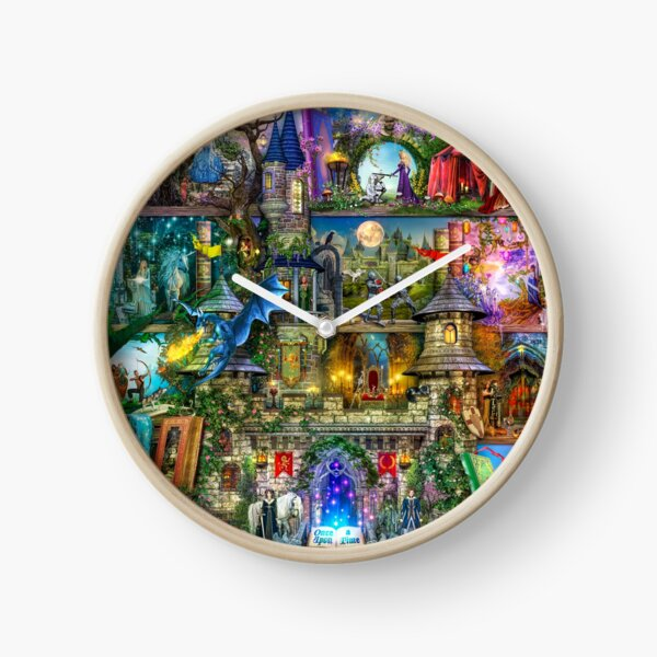 Once Upon a Fairytale Clock