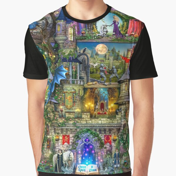 Once Upon a Fairytale Graphic T-Shirt