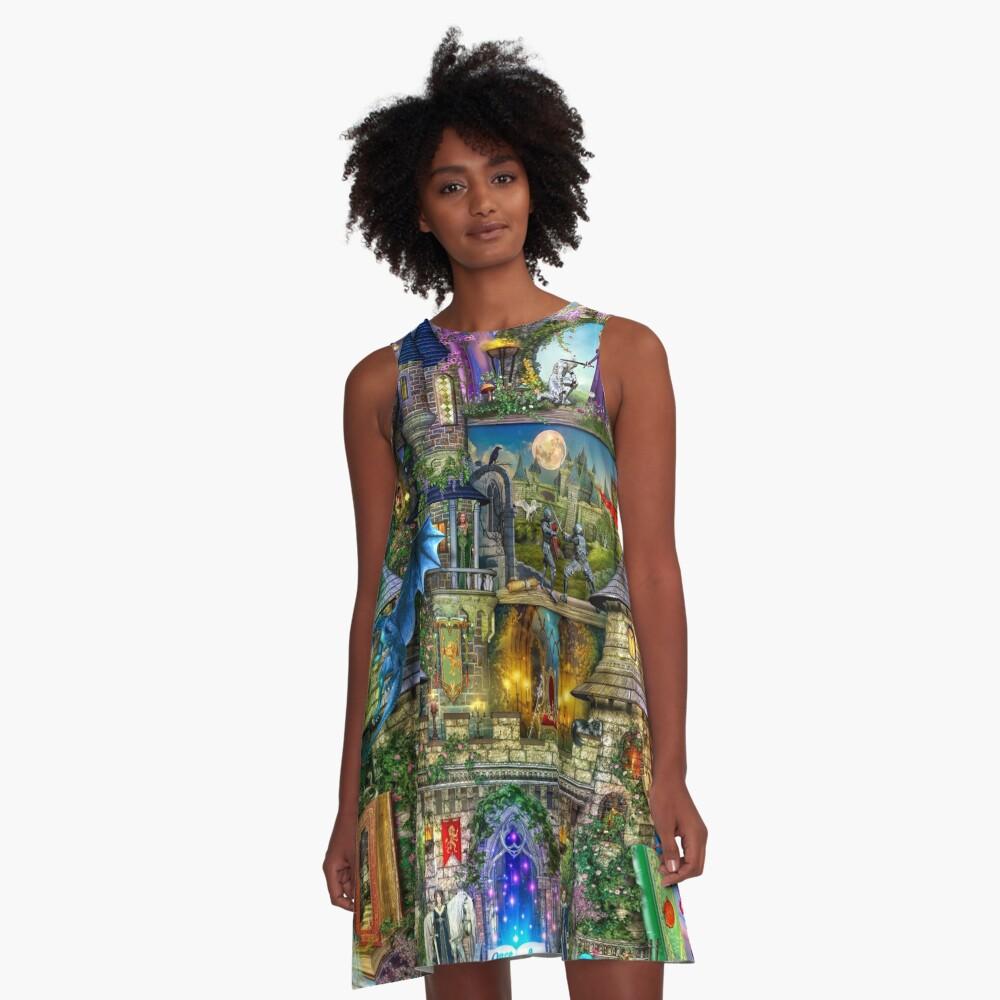 Once Upon a Fairytale A-Line Dress
