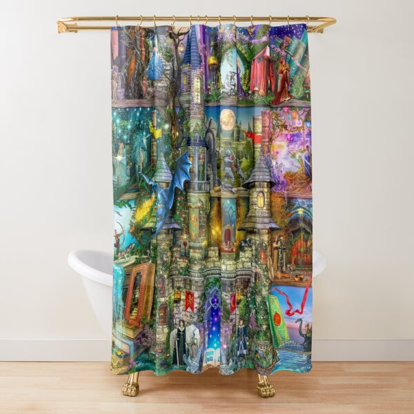Once Upon a Fairytale Shower Curtain