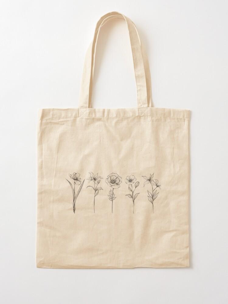 Alternate view of Wild Flowers Tote Bag