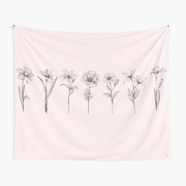 Wild Flowers Tapestry
