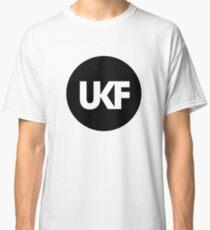 UKF-Black and White Classic T-Shirt