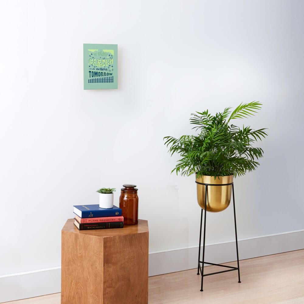 Plant a Garden Ver.1 Mounted Print