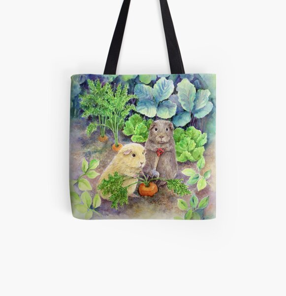 The Gardeners All Over Print Tote Bag